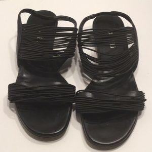 Vaneli Shoes - Multiple Strap Wedge Sandals